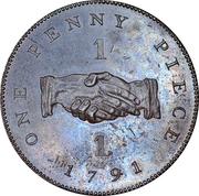 1 Penny (Sierra Leone Company) – reverse