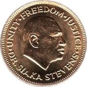 1 Cent – obverse