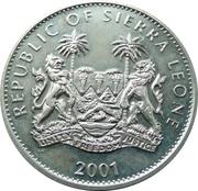1 Dollar (Elephants) – obverse