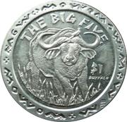 1 Dollar (Buffalo) – reverse
