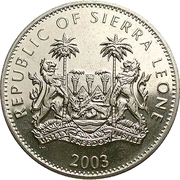 1 Dollar (Olympics) – obverse