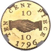 10 Cents (Sierra Leone Company) – reverse