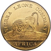 50 Cents (Sierra Leone Company) – obverse
