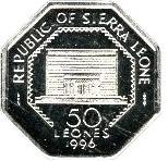 50 Leones -  reverse