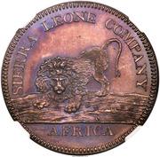 "1 Dollar (Sierra Leone Company; type ""100"") – obverse"