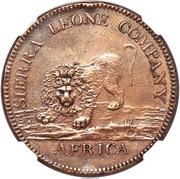 "1 Dollar (Sierra Leone Company; type ""1"") – obverse"