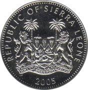 1 Dollar (Pope Benedict XVI) – obverse