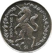 1 Dollar (Unicorn) – reverse