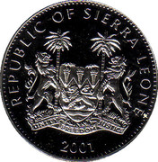 1 Dollar (Rhino) – obverse