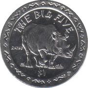 1 Dollar (Rhino) – reverse
