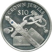 10 Dollars (Crown Jewels) – obverse