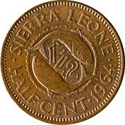 ½ Cent -  reverse