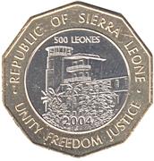 500 Leones – reverse