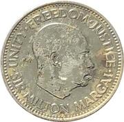 1/2 Cent – reverse