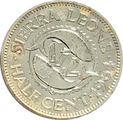 1/2 Cent – obverse