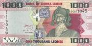 1000 Leones – obverse