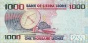 1000 Leones – reverse