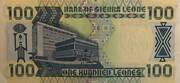 100 Leones – reverse