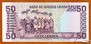 50 Leones – reverse