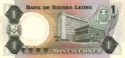 1 Leone – reverse