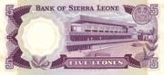 5 Leones – reverse