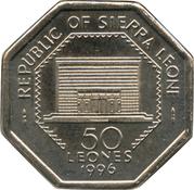 50 Leones – obverse