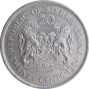20 Cents – reverse