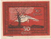 50 Heller (Siezenheim) – reverse