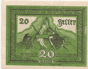 20 Heller (Siezenheim) – reverse