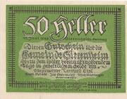 50 Heller (Siezenheim) – obverse