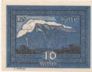 10 Heller (Siezenheim) – reverse