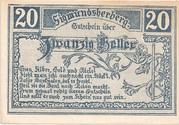 20 Heller (Sigmundherberg) -  obverse