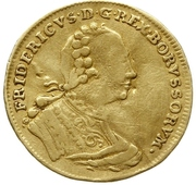 1 Ducat - Friedrich II. – obverse