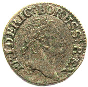 1 Kreuzer - Friedrich II – obverse