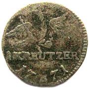 1 Kreuzer - Friedrich II – reverse