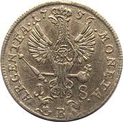 18 Kreuzer - Friedrich II – reverse