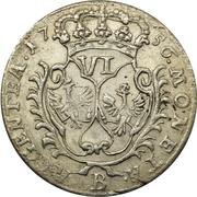 6 kreuzer - Friedrich II – reverse