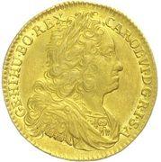 1 Ducat - Karl VI (Breslau) – obverse