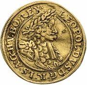 1 Ducat - Leopold I (Brieg) – obverse