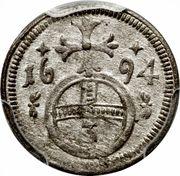 3 Pfennig - Leopold I (Oppeln) – reverse