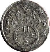3 Pfennig - Leopold I (Brieg) – reverse