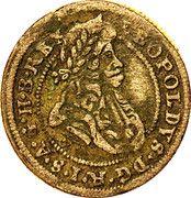 1 Kreuzer - Leopold I (Oppeln) – obverse