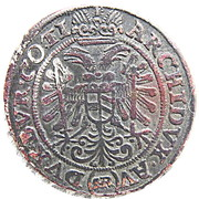 3 Kreuzer - Ferdinand II (Breslau) – reverse