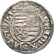3 Kreuzer - Ferdinand III (Glatz) – reverse