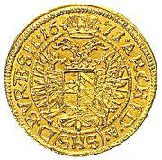 ½ Ducat - Leopold I (Breslau) – reverse