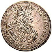 1 Thaler - Leopold I (Oppeln) – obverse