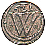 1 Heller - Ferdinand II (Wroclaw) – obverse