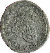 1 Kreuzer Landmünz - Leopold I (Oppeln) – obverse