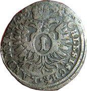 1 Kreuzer Landmünz - Leopold I (Oppeln) – reverse