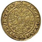 1 Ducat - Ferdinand III (Breslau) – reverse